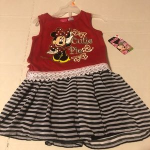 Disney 4T Disney Minnie Mouse Dress